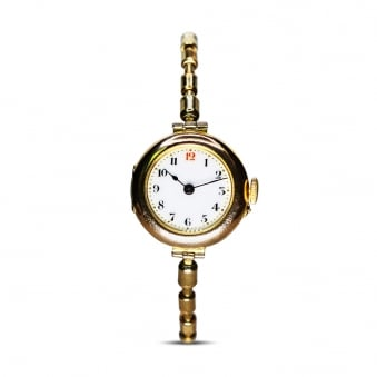 9ct Vintage Ladies Dress Watch - Manual Wind