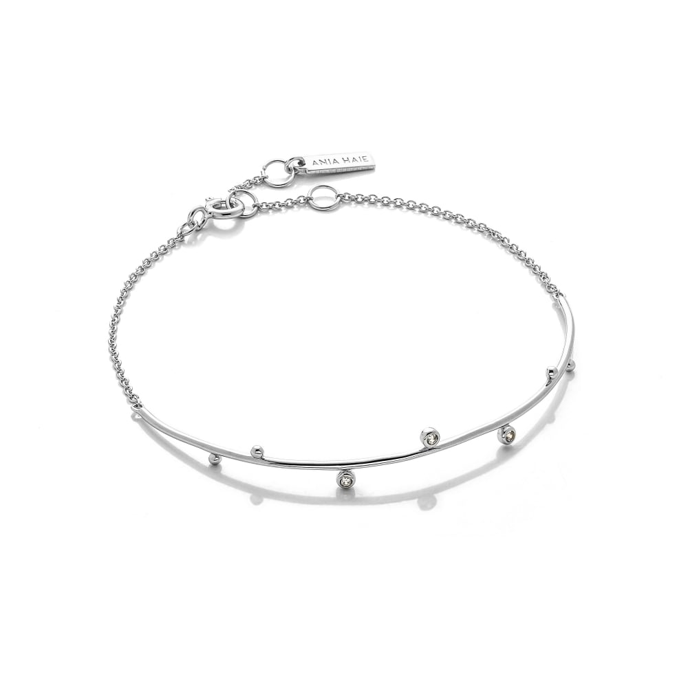 Ania Haie Touch Of Sparkle Double Bracelet Jewellery From David