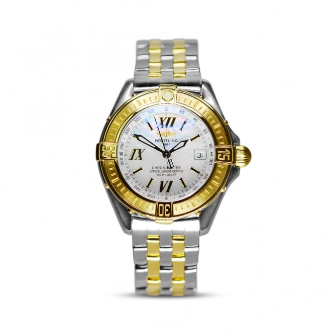 Breitling B-Class Ladies Steel & Yellow Gold Watch D67365