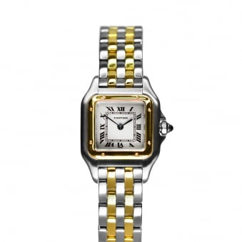 Cartier Santos Steel and Yellow Gold - 1120
