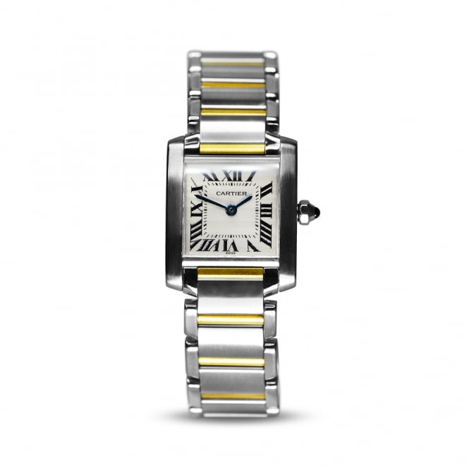 Cartier Yellow Gold & Steel Tank Francaise