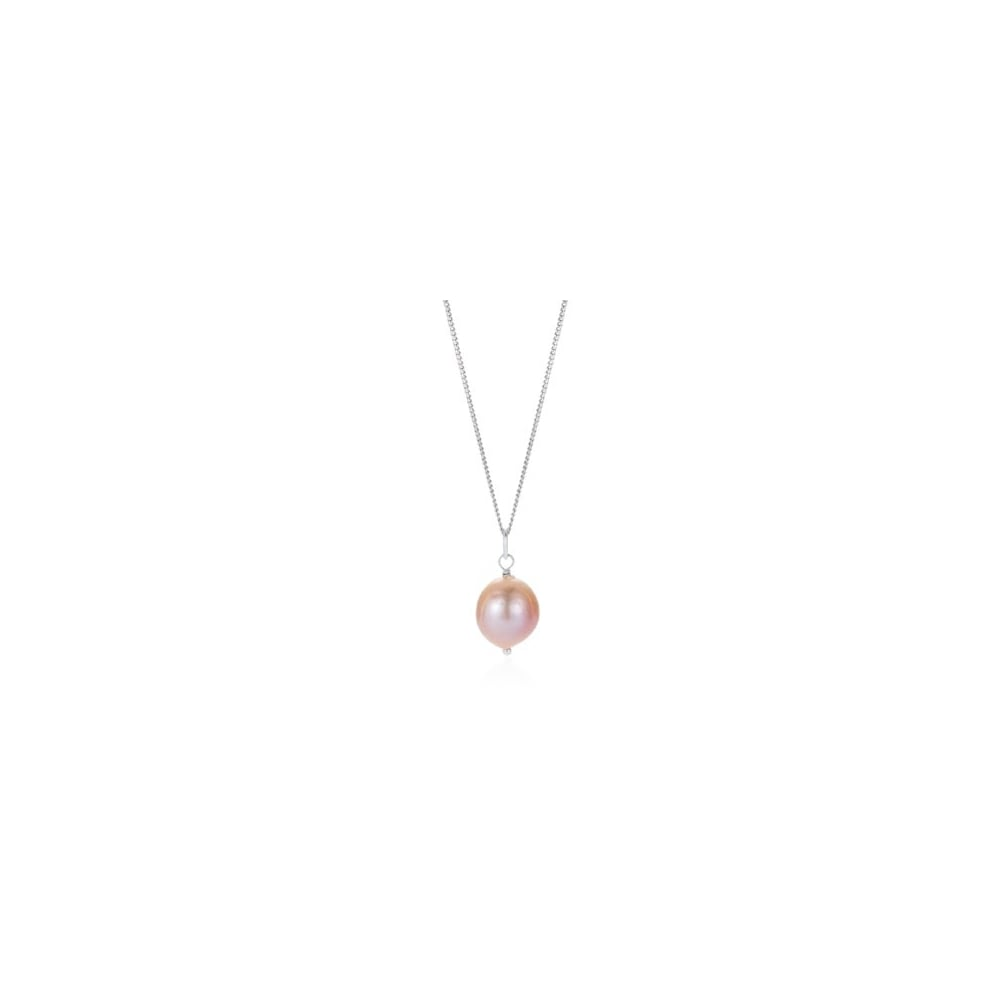 shipping pink pearl free silver today watches overstock miadora drop pendant jewelry sterling product necklace mm cultured freshwater