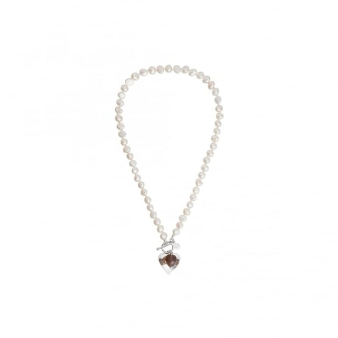 Claudia Bradby Hebe Pearl and Agate Necklace