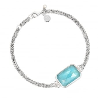 Claudia Bradby Savanna Aqua Beauty Bracelet
