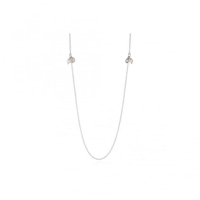Claudia Bradby Silver Essential Layering Necklace