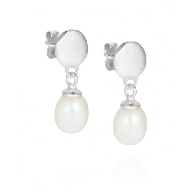 Claudia Bradby The World Is Your Oyster Drop Pearl Earrings