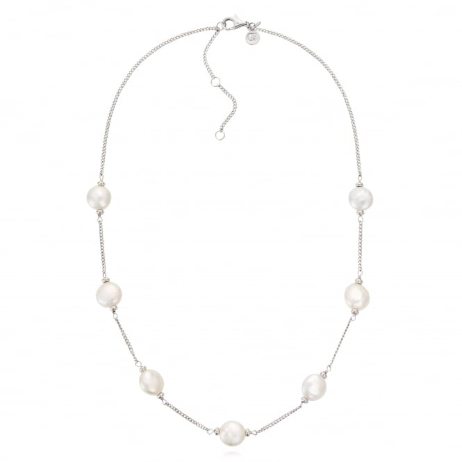 Claudia Bradby White Luxe Pearl Necklace