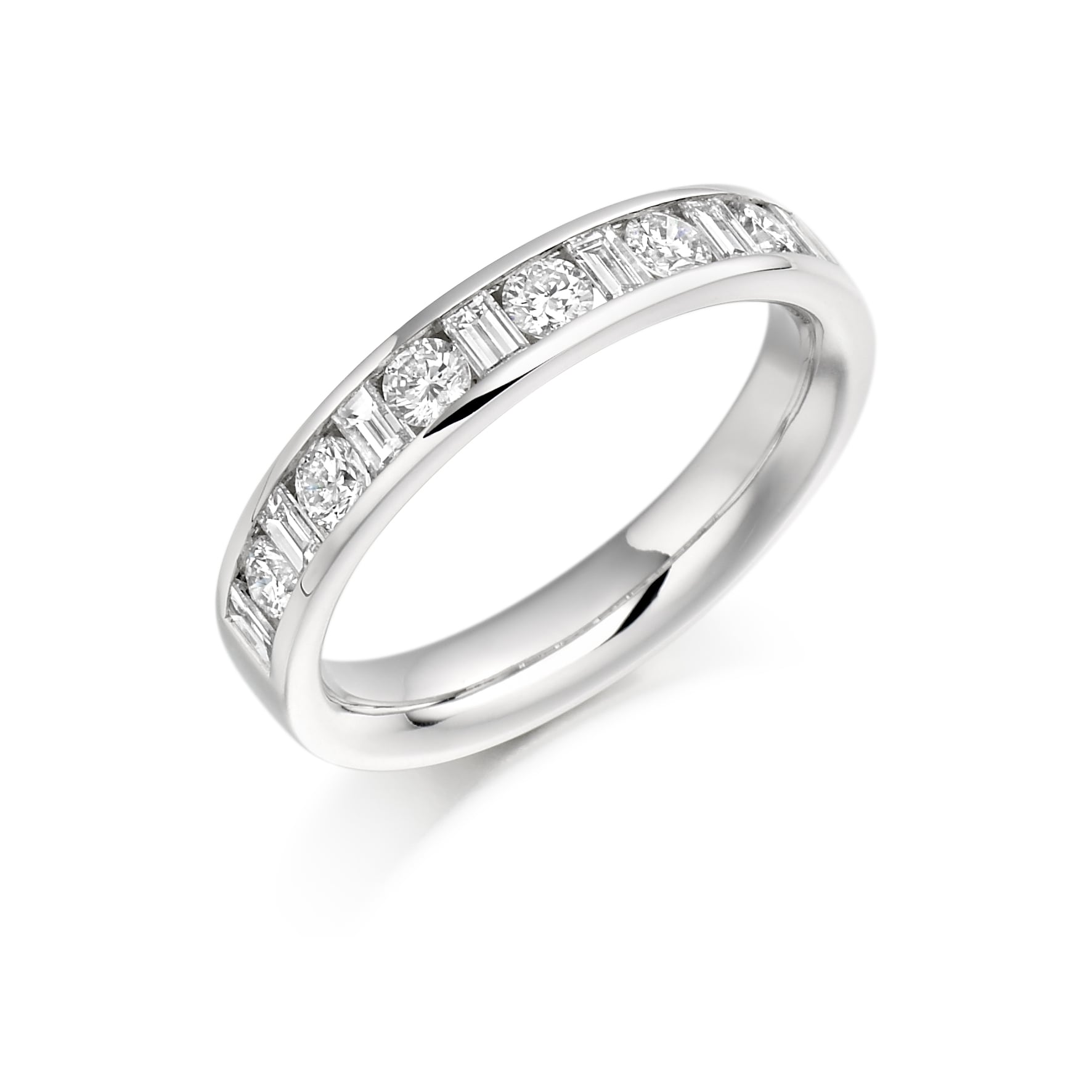 Diamond Eternity & Wedding Ring Collection