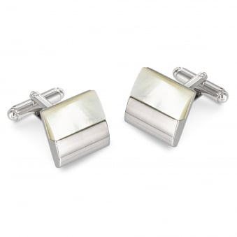 Duncan Walton Galsworthy Mother of Pearl Cufflinks