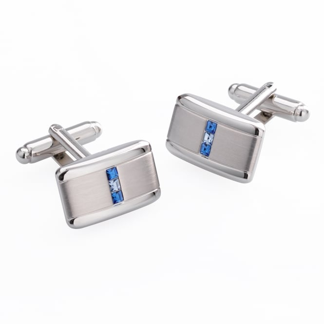 Duncan Walton Hodge Blue Cufflinks
