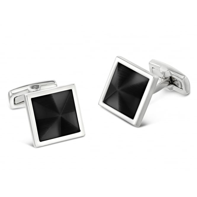 Duncan Walton Masson Cufflinks - Black