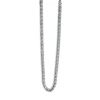 Fred Bennett Steel Curb Necklace