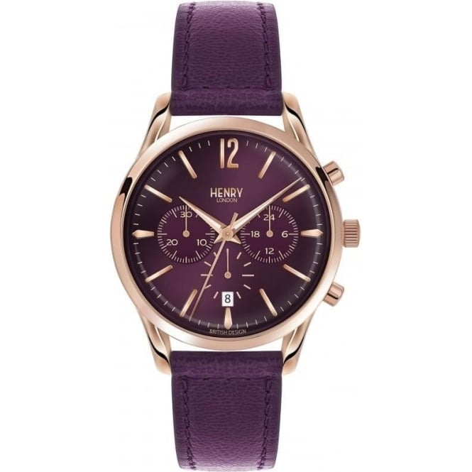 Henry London Unisex Hampstead Chronograph Watch