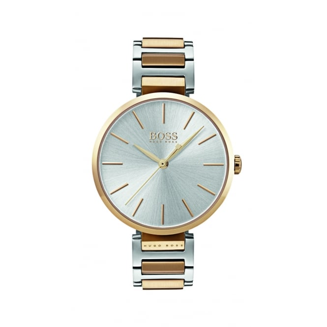 Hugo Boss Allusion Two Tone Stainless Steel Ladies Watch