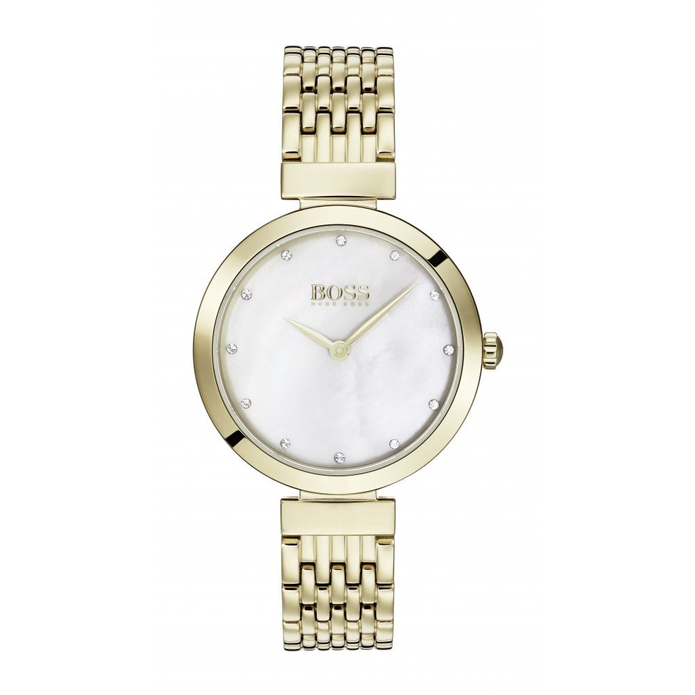 9c929d12 Hugo Boss Celebration Mother of Pearl Dial Ladies Watch - Watches ...