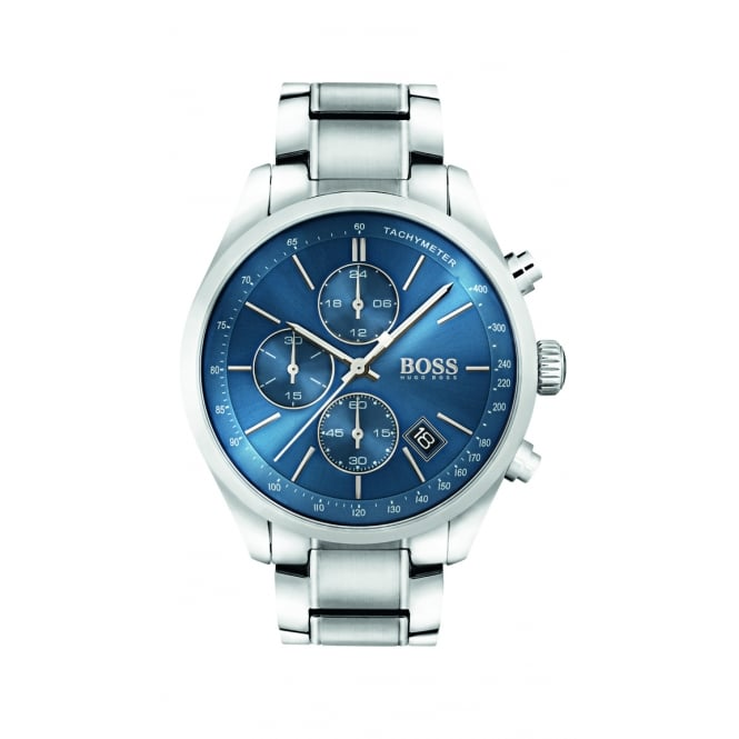 Hugo Boss Grand Prix Men's Stainless Steel Chronograph Watch