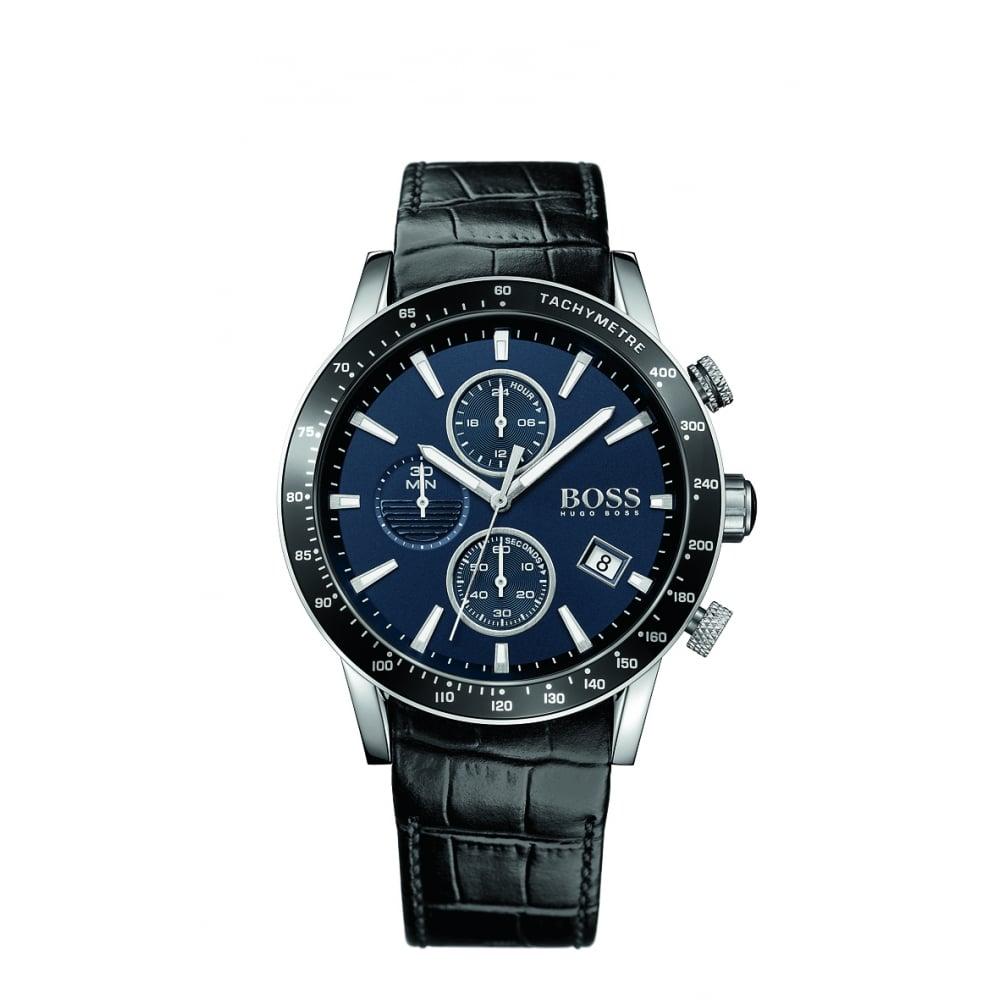 0adfbbeb5 Hugo Boss Rafale Men's Stainless Steel Chronograph Watch