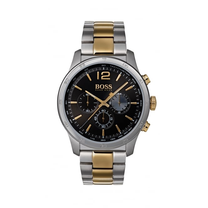 Hugo Boss The Professional Two Tone Chronograph Mens Watch