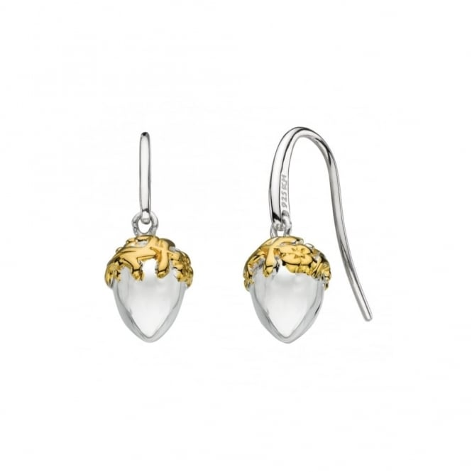 Kit Heath Acorn Drop Earrings - Gold Plated