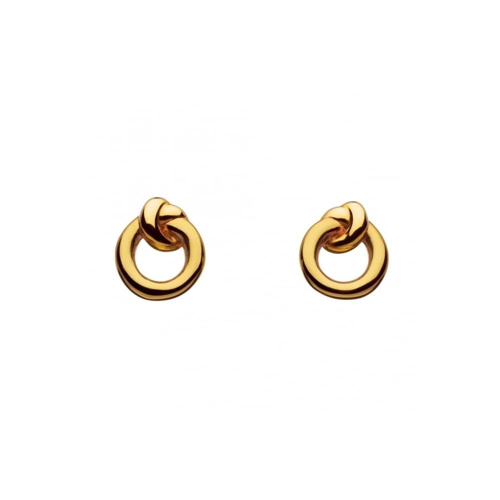 Kit Heath Kit Heath Amity Gold Plate Stud Earrings