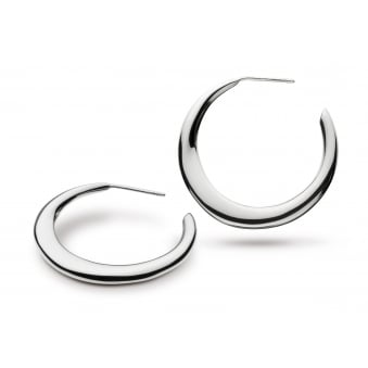 Kit Heath Bevel Cirque 30mm Hoop Earrings