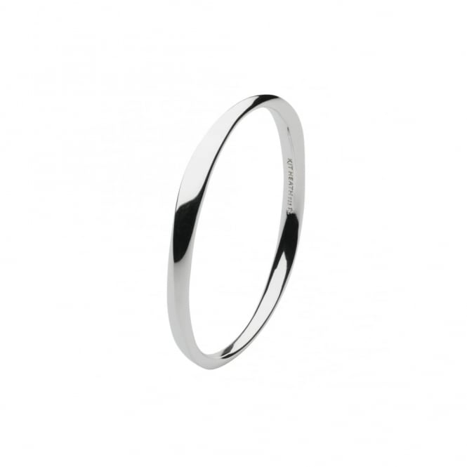 Kit Heath Bevel Curve Bangle
