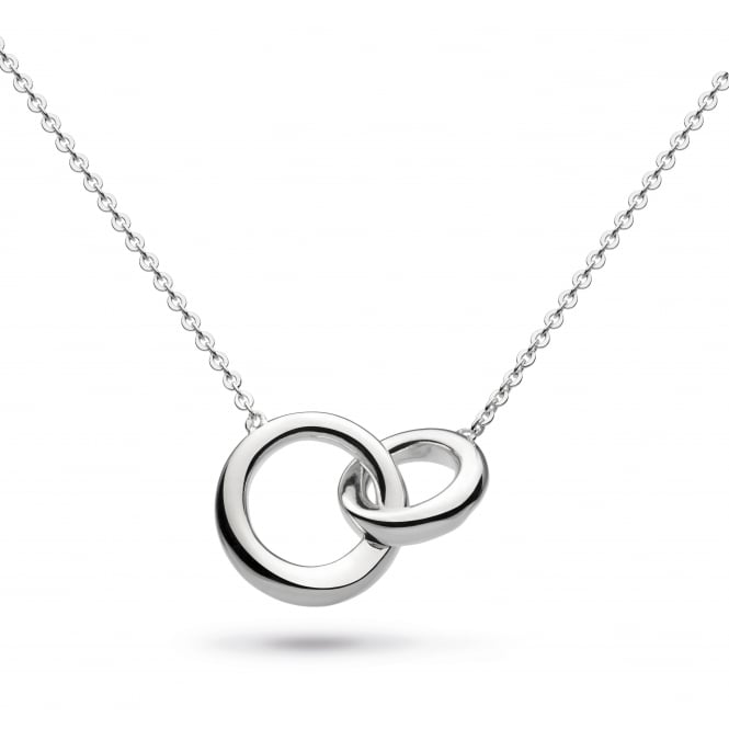 Kit Heath Bevel Curve Double Link Necklace
