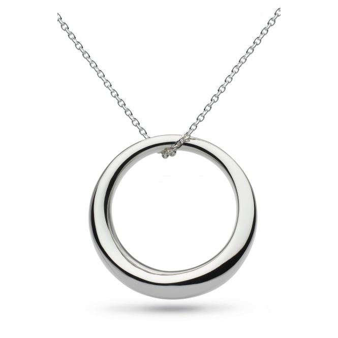 Kit Heath Bevel Curve Ring Necklace