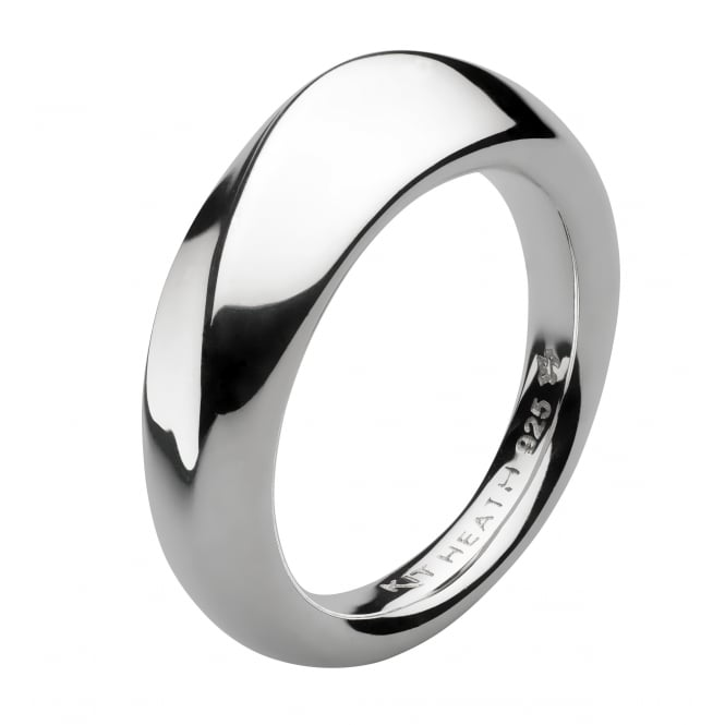 Kit Heath Bevel Wave Ring