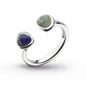 Kit Heath Coast Pebble Lapis Labradorite Ring