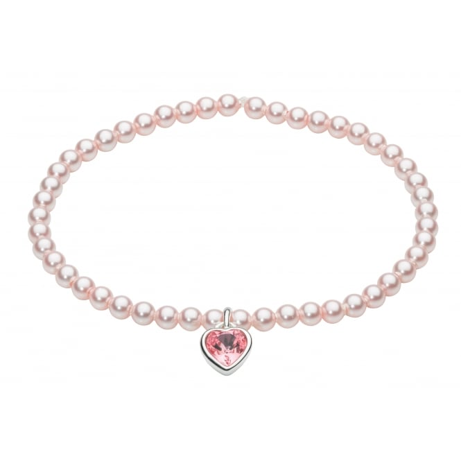 Kit Heath for Girls Sparkle Heart Bracelet