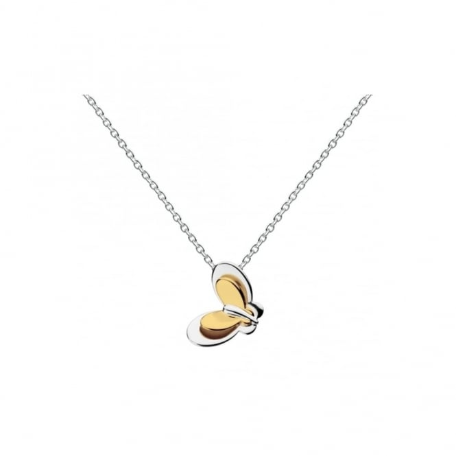 Kit Heath - Heath Butterfly Gold Plated Necklace