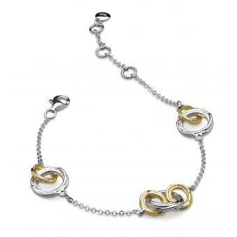 Kit Heath Infinity Coco Link Gold Plated Bracelet
