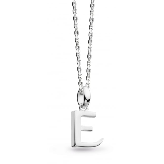Kit Heath Initial E Necklace