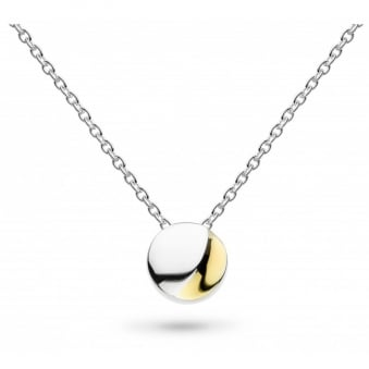 Kit Heath Miniature Lunar Moon Gold Plated Necklace 17