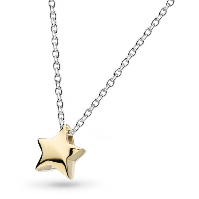 Kit Heath Miniature Shooting Star Gold Plated Necklace 17