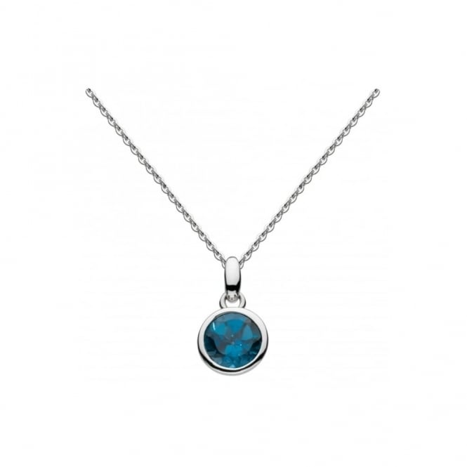 Kit Heath Society Simmer Necklace - London Blue Topaz