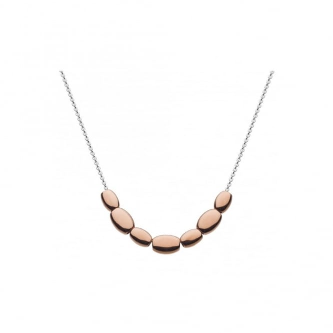 Kit Heath Stepping Stone Rose Gold Plated Necklace
