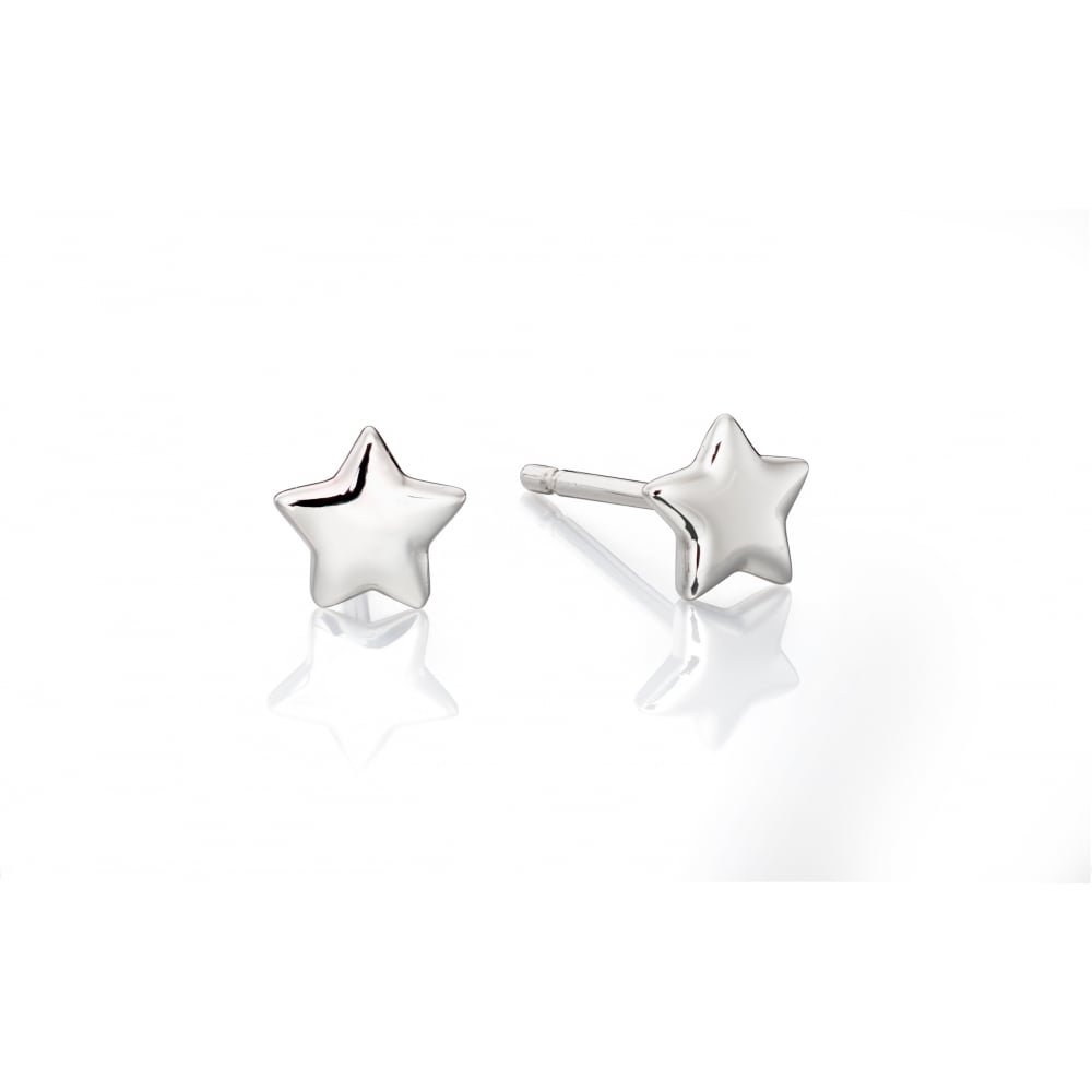 Little Star Ava - Plain Small Stud Earrings - Jewellery from David ... 36a9f3b08