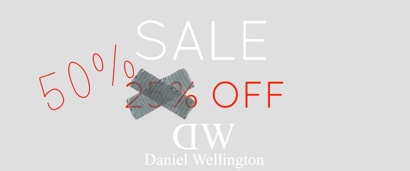Daniel Wellington Sale