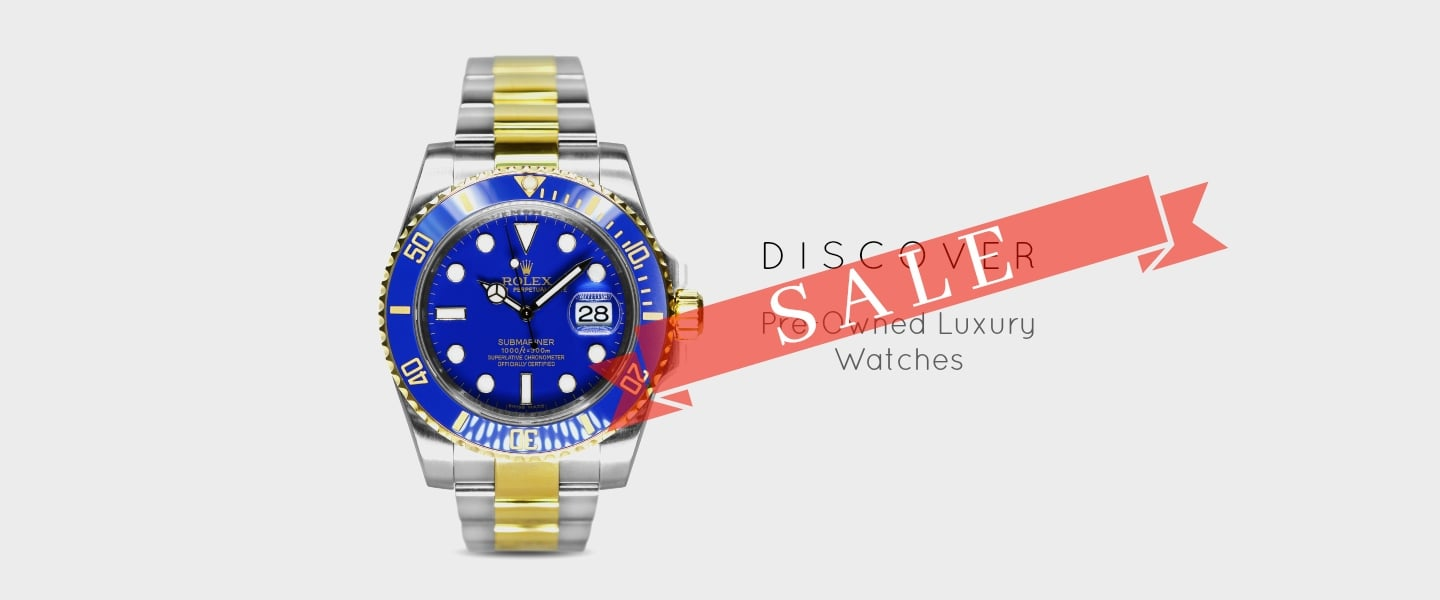 Pre-Owned Watches SALE