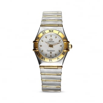 Omega Constellation Steel & Yellow Gold Ladies Watch