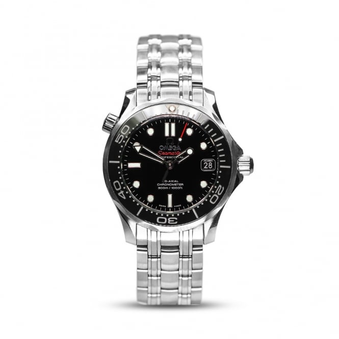 Omega Midsize Steel Co-Axial Seamaster