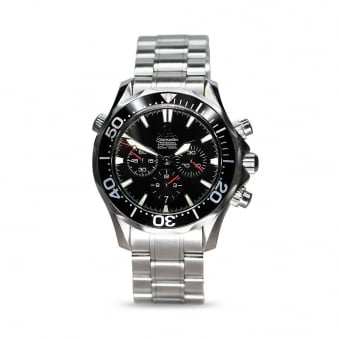 Omega Seamaster Chronograph Steel Gents Watch
