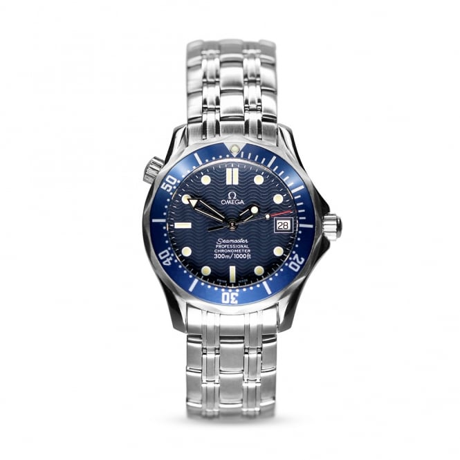 Omega Seamaster Midsize Automatic Mens Watch 168.1602