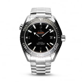 Omega Seamaster Planet Ocean Co-Axial Steel Mens Watch
