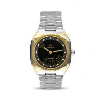 Omega Seamaster Polaris Multifunction Steel & Yellow Gold