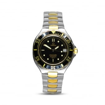 Omega Seamaster Steel & Yellow Gold Mens Automatic Watch