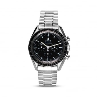 Omega Speedmaster Manually Wound Mens Stainless Steel Watch
