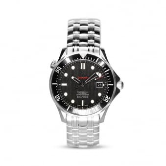 Omega Stainless Steel Co-Axial Seamaster Mens Watch